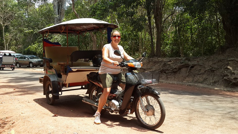 And finally: me on my TukTuk!