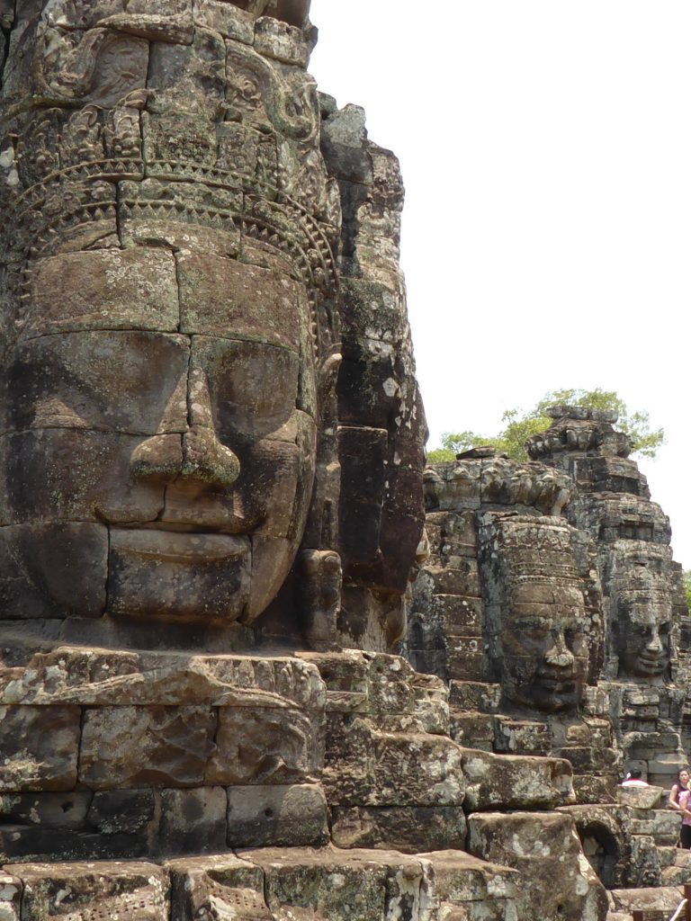 Detail of Bayon Temple