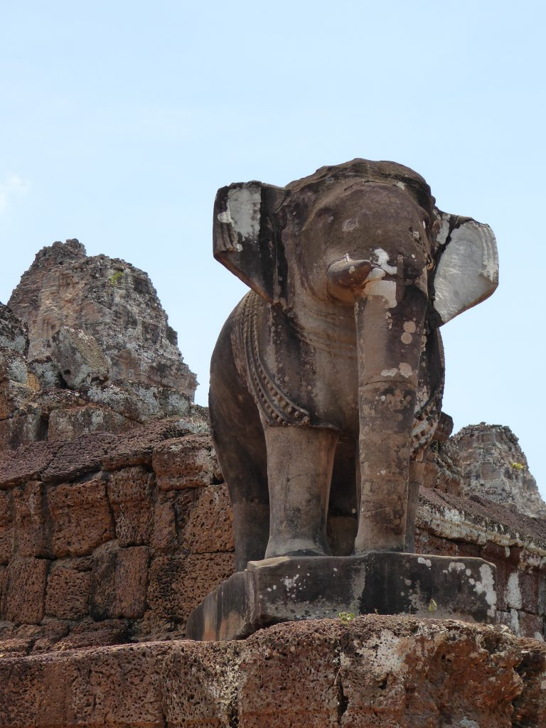 One of the guards of East Mebon Temple