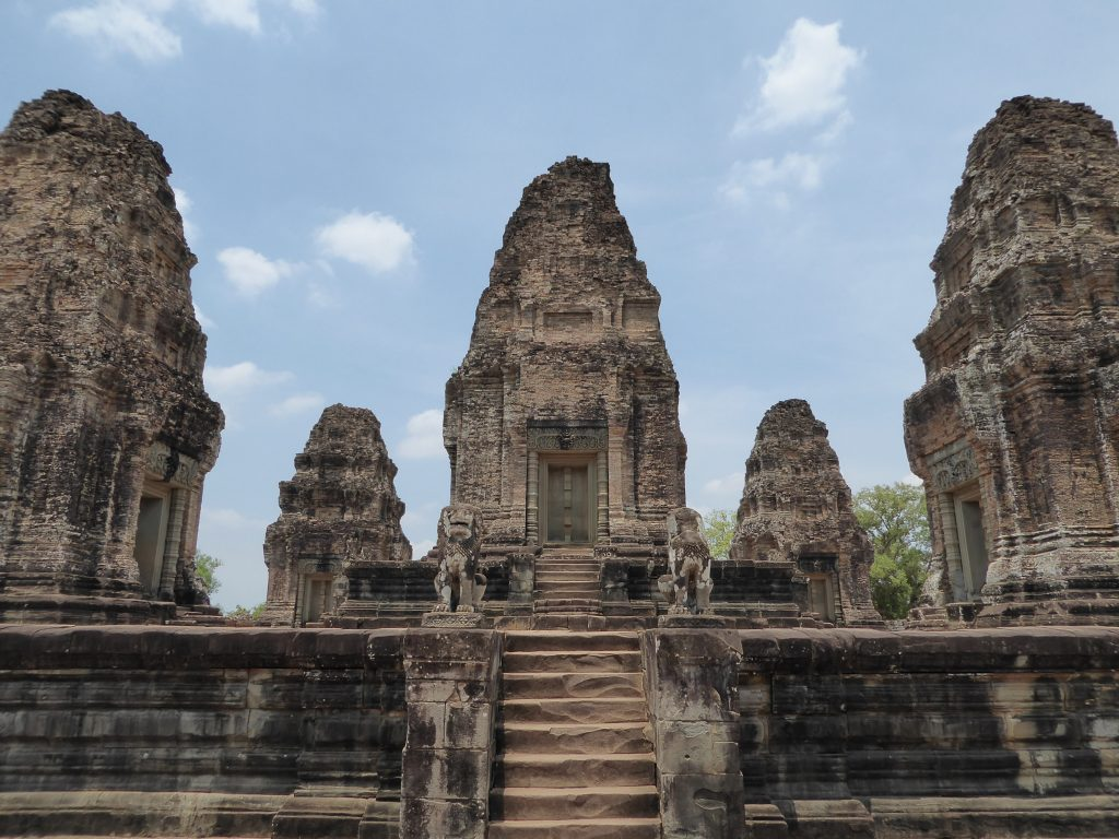 The top of Pre Rup Temple
