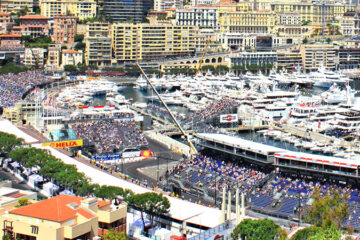 Chartering a yacht for Monaco Grand Prix